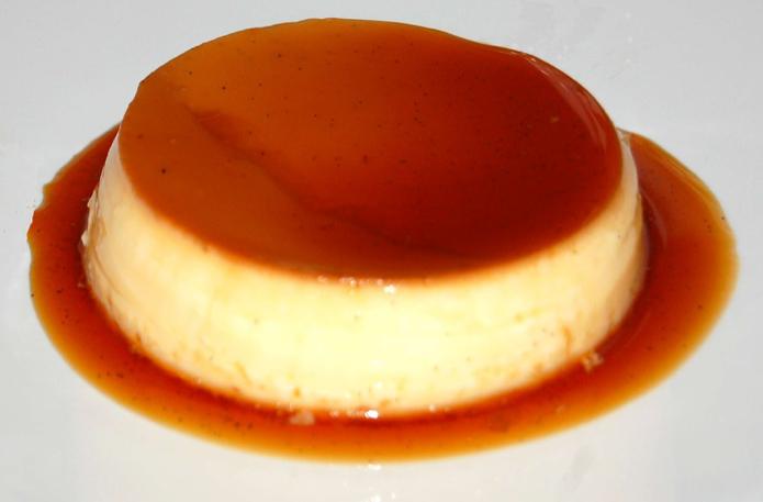 Flan vanille aux oeufs / Crème caramel