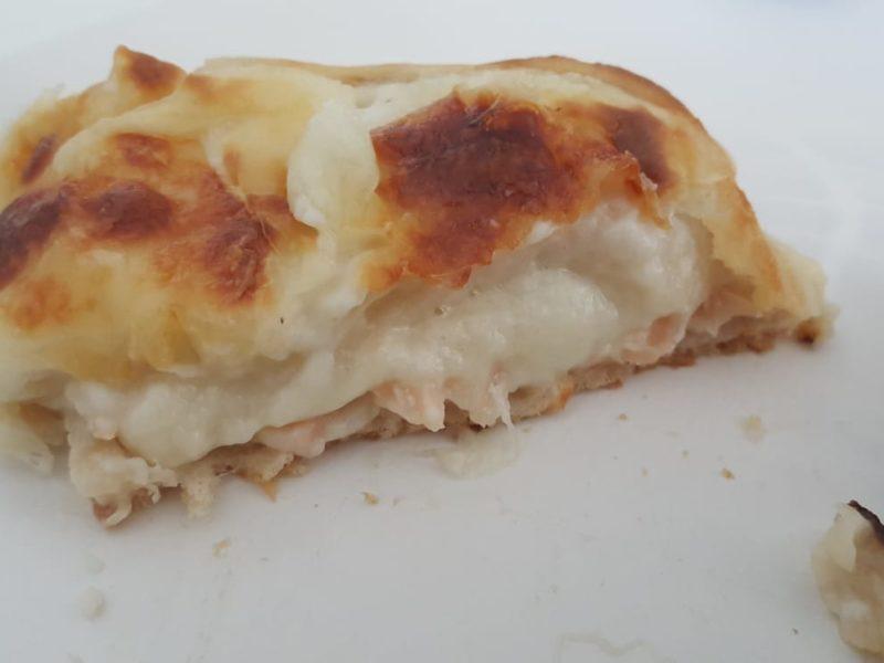 Croque monsieur saumon
