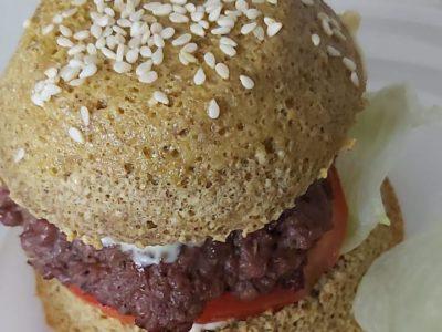 Buns Burger healthy (pain hamburger diet)