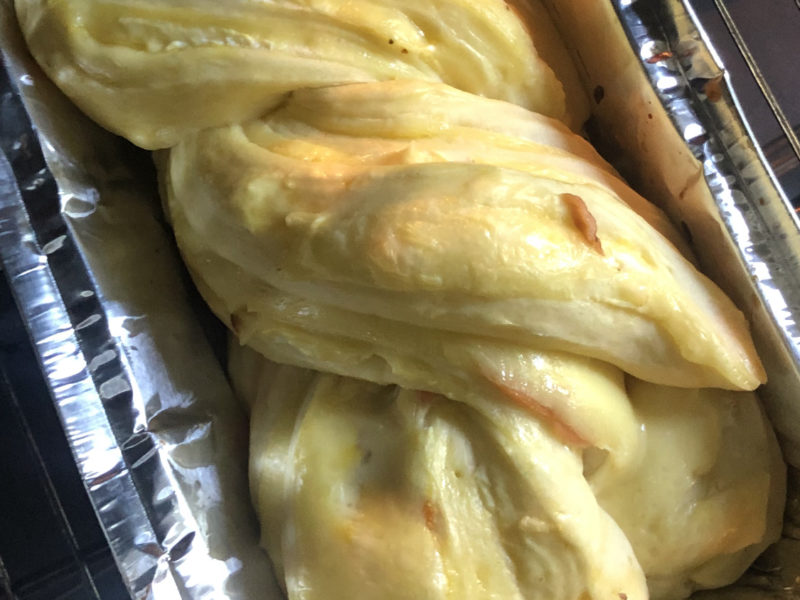 Babka saumon cheese